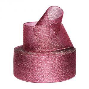 `Лента металлизированная(парча) 50 мм, цвет: 3343