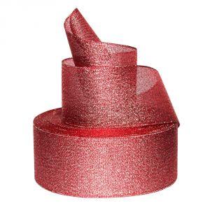 `Лента металлизированная(парча) 50 мм, цвет: 3342
