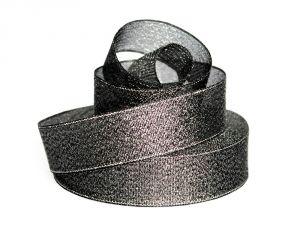 `Лента металлизированная(парча) 25 мм, цвет: 3346