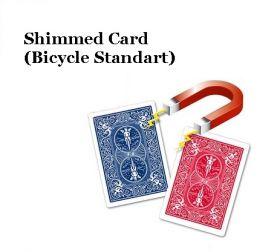 Shimmed Card (Bicycle Standard) магнитная карта