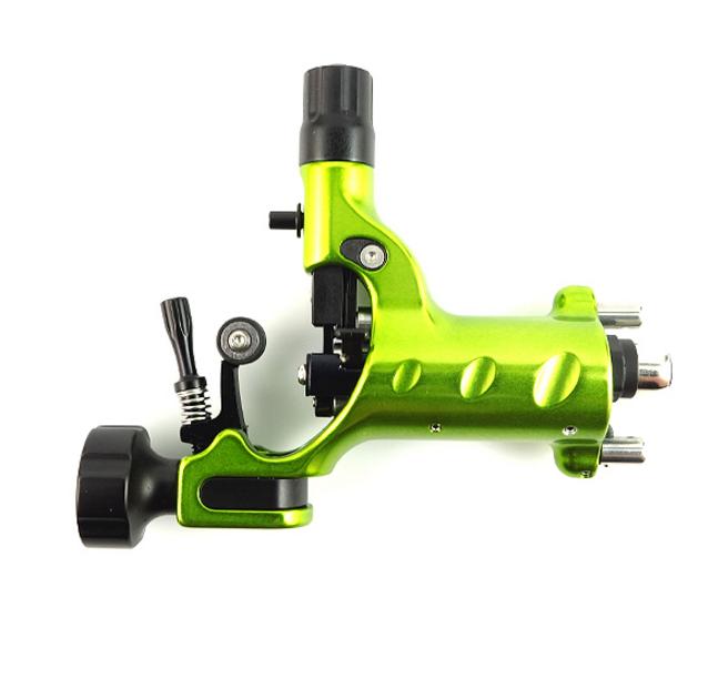 Stingray Rotary Tattoo Machine X2 in Slime Green