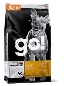 GO! NATURAL Holistic беззерновой для щенков и собак с цельной уткой для чувствительного пищеварения