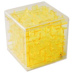 Головоломка Куб желтая