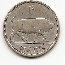 1 шиллинг  Ирландия 1931 Распродажа!