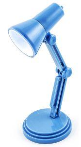 Светильник для чтения книг  Лампа голубая