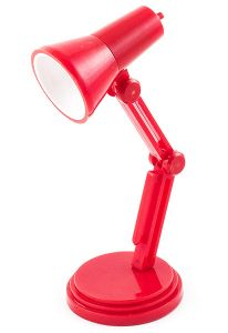Светильник для чтения книг  Лампа красная