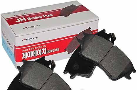 Колодки тормозные передние HYUNDAI Elantra '00- 581012DA20 JP1002 JH Brake