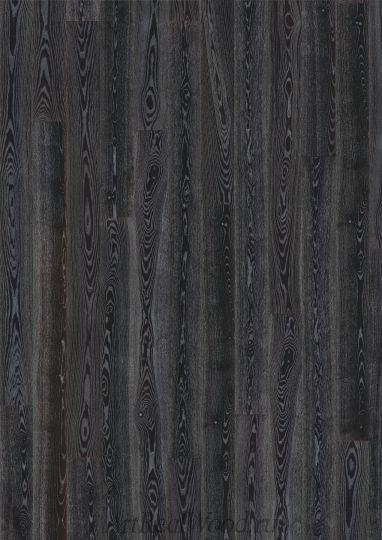 Паркетная доска Ясень Черное серебро (Black Silver) Kahrs