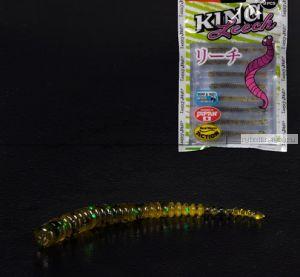Слаг Lucky John Pro Series King Leech 50 мм / упаковка 9 шт / цвет РА19
