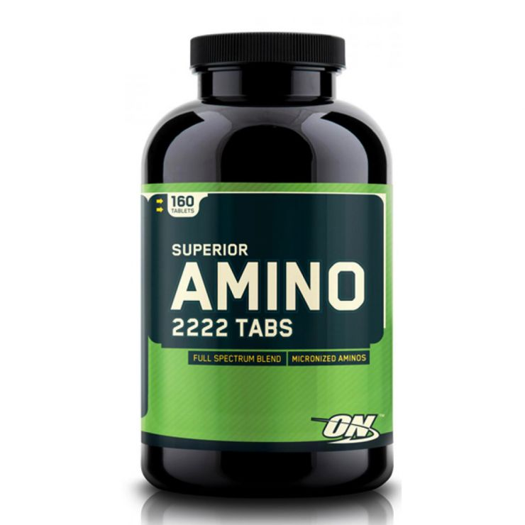 Аминокислотный комплекс Optimum Nutrition Superior Amino 2222 таблетки (tabs)