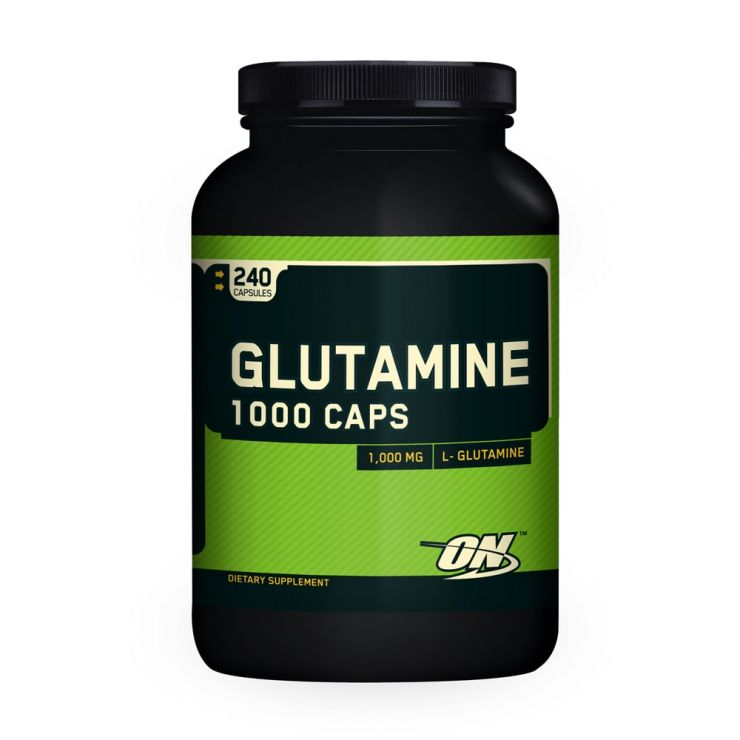 Optimum Nutrition Glutamine (L-Глютамин) caps 1000 mg