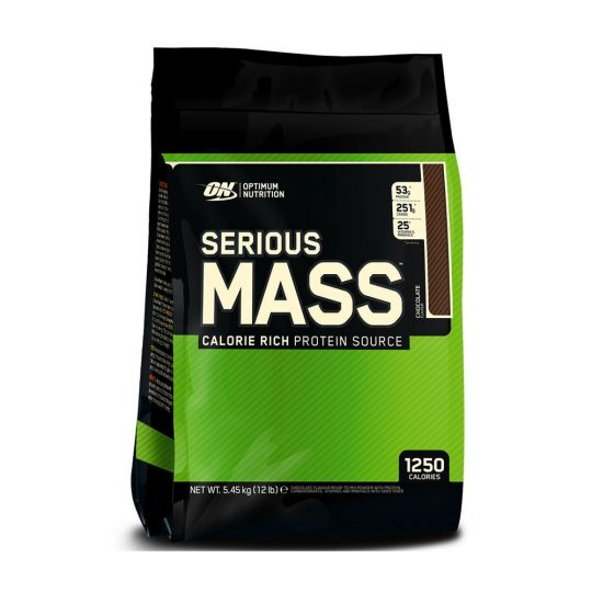 Гейнер Optimum Nutrition Serious Mass 12lb (5,45 кг)