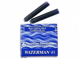 52012 Картридж Waterman син/6 INTL