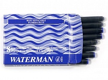52002 Картридж Waterman син/6 INTL