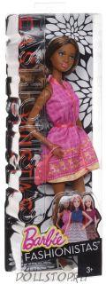 Игровая Барби Модница Грэйс - BARBIE DOLL FASHIONISTAS 2015 CJV75 GRACE  Специальный выпуск