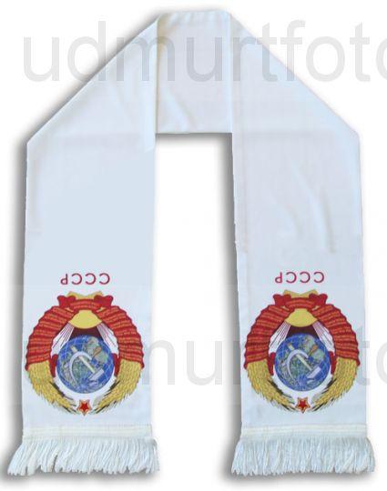 Печать изображения на шарфе