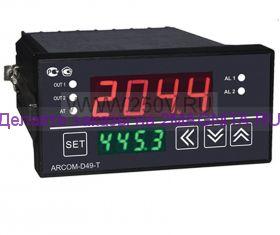 Терморегулятор D49-120 +1370ºС с таймером
