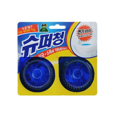 Очищающая таблетка для унитаза  Sandokkaebi Super Chang, 40 г*2 шт.