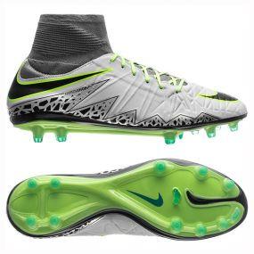 Бутсы Nike Hypervenom Phatal II FG серые