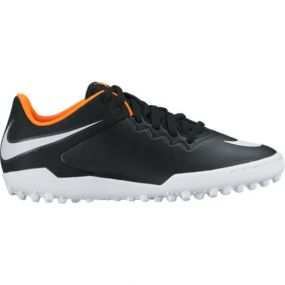 Детские шиповки-сороконожки Nike Hypervenom Pro Street TF чёрные