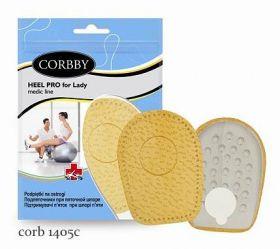 CORBBY подпяточник женский HELL PRO for ledi при центральной пяточной шпоре