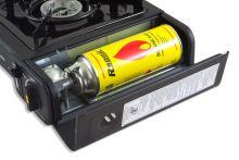Портативная газовая плита в чемодане под газовый баллон 520 см. куб.