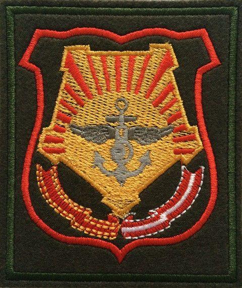 Шеврон Восточный военный округ (Прямоугольник, шеврон. Олива, шелк, офисный)пр 300