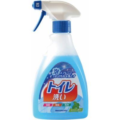 Японская чистящая спрей-пена для туалета Foam spray toilet в ассортименте
