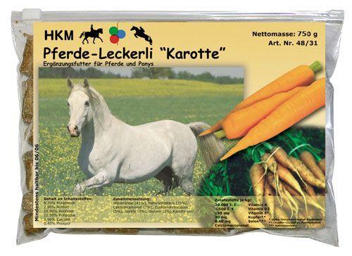 Вкусняшки HKM с морковным вкусом