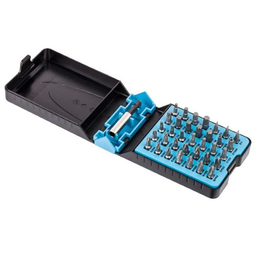 Набор бит HAZET 2240N/36, 36 предметов в раскладном кейсе