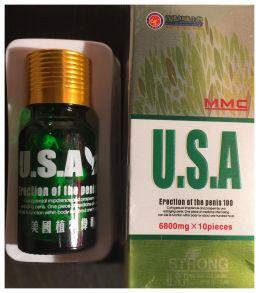 U.S.A китайский препарат для потенции 10 таб.*6800мг