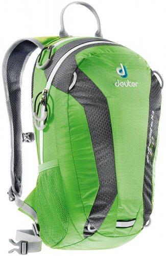 Deuter Speed Lite 10L spring-anthracite лёгкий велосипедный рюкзак