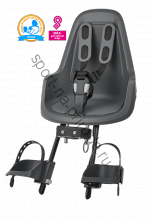 Велокресло Bobike ONE mini для крепления на рулевой трубе (переднее)