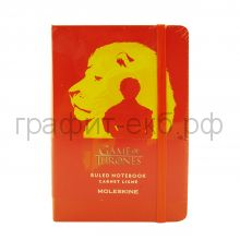 Книжка зап.Moleskine Pocket Game of Thrones линейка красный LEGTMM710