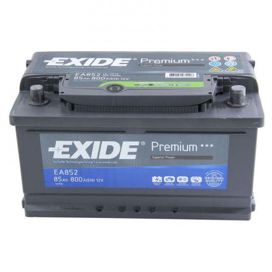 Автомобильный аккумулятор АКБ Exide (Эксайд) Premium EA852 85Ач о.п.