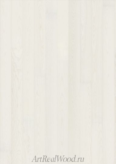 Паркетная доска Ясень Story Shine White Karelia