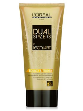 L'Oreal Tecni Art Dual stylers bouncy and tender Крем-гель
