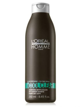 L'Oreal Homme Cool Clear Освежающий шампунь от перхоти