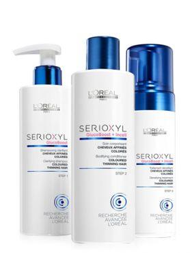 L'Oreal Serioxyl Набор для окрашенных волос