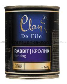 Clan De File консервы для собак (с кроликом)