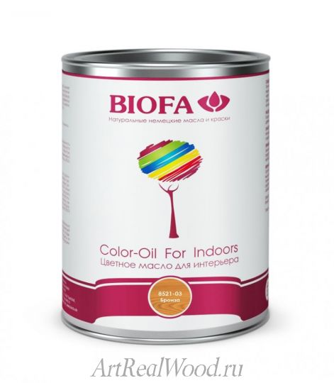 Масло для интерьера 8521-03 (Бронза) Color-Oil For Indoors BIOFA