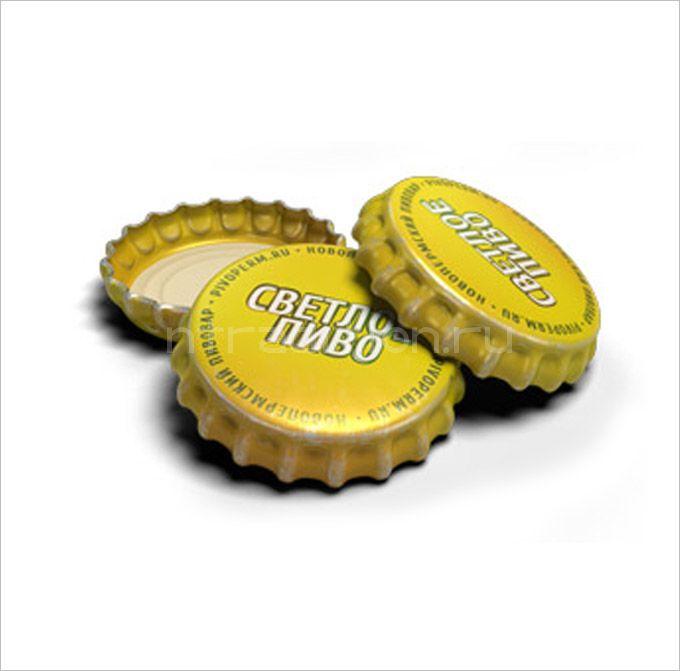 """Кроненпробки 6.75 мм, """"Светлое пиво"""", 100 шт"""