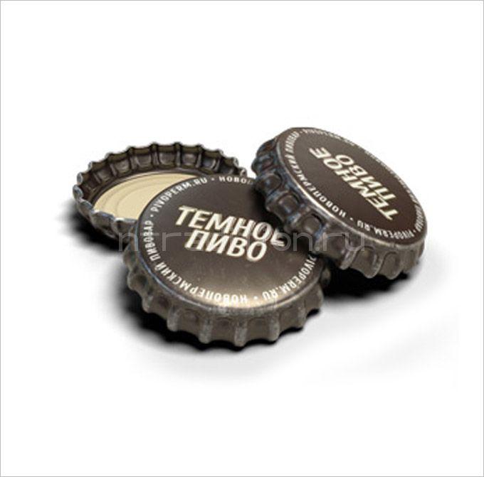 """Кроненпробки 6.75 мм, """"Темное пиво"""", 100 шт"""