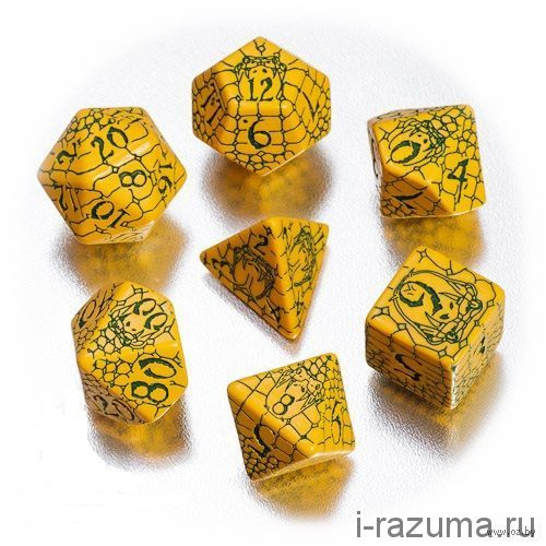 Кубики ДНД Pathfinder (D&D) 7 шт.