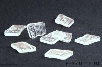Игровые $ Пластиковые прозрачные