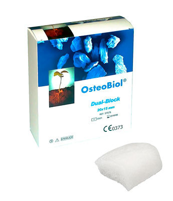 OsteoBiol Dual-Block soft 20х15х5мм