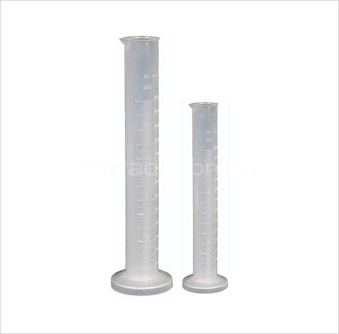 Пластиковый цилиндр, 50 мл
