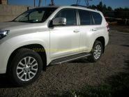 Защита штатного порога 20*40 мм для Toyota LandCruiser Prado 150 2013 -