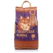 """Сибирская кошка Комкующийся наполнитель """"Супер"""" (10 кг)"""