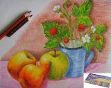 Цветные карандаши artista 36 шт в жестяной коробке